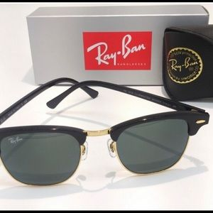 Ray-Ban Club Masters With Black Lens